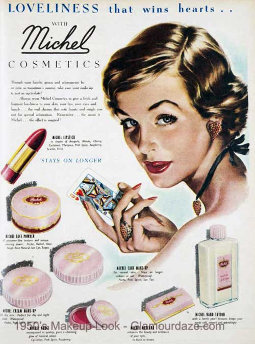 America: 1950s - History of Cosmetics & Beauty